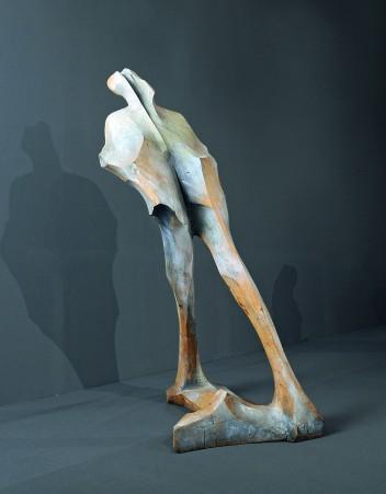 Adam Myjak, Z cyklu Figury, 2002-2005, 240x100x110, fot. archiwum prywatne Adama Myjaka
