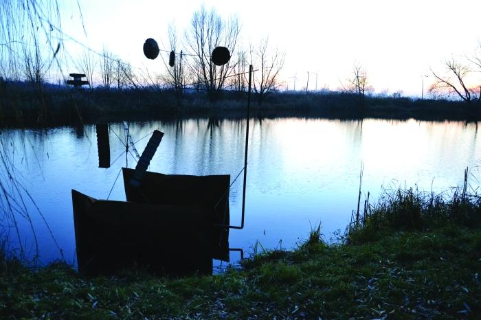 """Gustaw Maj, ,,Mechanika symbiotyczna - Obiekt ze sfery marzeń 1"""", OPWA II, CRP w Orońsku, 2016"""