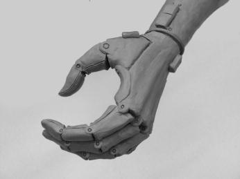 """Andrzej Kokosza, ,,Rzeźba dla rzeźbiarki"""", model protezy"""