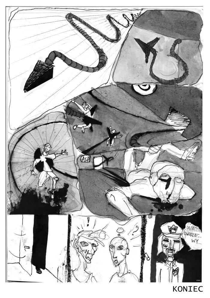 Stanisław Bałdyga, komiks